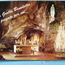 Postales: POSTAL RELIGIOSA. AÑOS 70. BASÍLICA DE LOURDES, FRANCIA. GRUTA VIRGEN. 6. . Lote 31576985