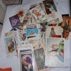 Postales: LOTE DE MAS DE 200 ESTAMPAS DE RELIGION Y RECORDATORIOS. Lote 31583633