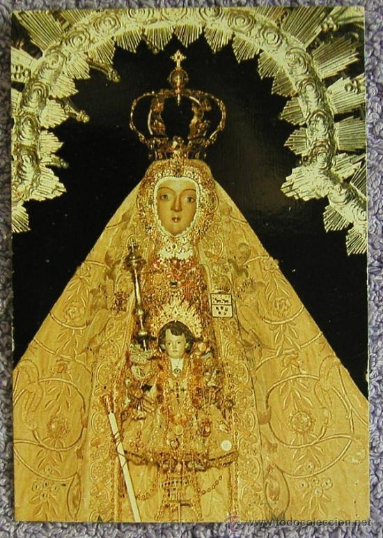 Estampa Recuerdo De Maria Santisima De La Sierra Patrona De Cabra Cordoba Virgen De La Sierra
