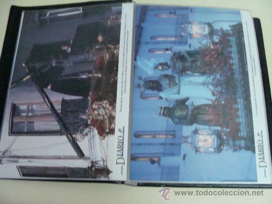 Postales: ÁLBUM DE RECORTES E IMÁGENES DE LA SEMANA SANTA DE MÁLAGA 1994 - 1996. RELIGIOSOS. - Foto 10 - 32109115