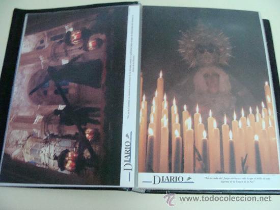 Postales: ÁLBUM DE RECORTES E IMÁGENES DE LA SEMANA SANTA DE MÁLAGA 1994 - 1996. RELIGIOSOS. - Foto 9 - 32109115