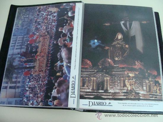 Postales: ÁLBUM DE RECORTES E IMÁGENES DE LA SEMANA SANTA DE MÁLAGA 1994 - 1996. RELIGIOSOS. - Foto 8 - 32109115