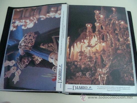 Postales: ÁLBUM DE RECORTES E IMÁGENES DE LA SEMANA SANTA DE MÁLAGA 1994 - 1996. RELIGIOSOS. - Foto 7 - 32109115