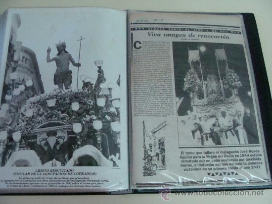 Postales: ÁLBUM DE RECORTES E IMÁGENES DE LA SEMANA SANTA DE MÁLAGA 1994 - 1996. RELIGIOSOS. - Foto 5 - 32109115