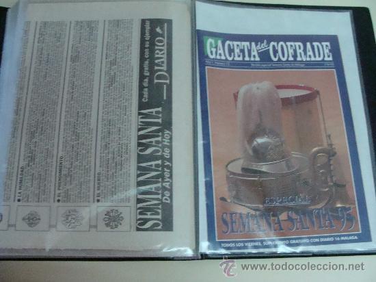 Postales: ÁLBUM DE RECORTES E IMÁGENES DE LA SEMANA SANTA DE MÁLAGA 1994 - 1996. RELIGIOSOS. - Foto 4 - 32109115