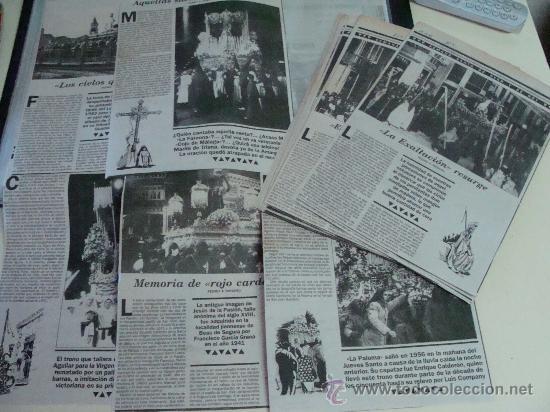 Postales: ÁLBUM DE RECORTES E IMÁGENES DE LA SEMANA SANTA DE MÁLAGA 1994 - 1996. RELIGIOSOS. - Foto 3 - 32109115