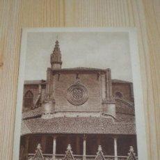 Postales: CATEDRAL DE PAMPLONA, POSTAL NUMERADA. COLOR SEPIA. Lote 32431688