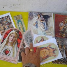 Postales: 10 LAMINAS Y POSTALES RELIGIOSAS. Lote 32523197