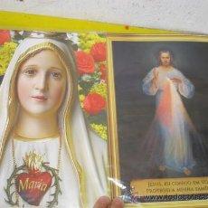 Postales: 2 POSTER RELIGIOSO. Lote 32523224