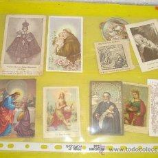 Postales: 9 POSTALES RELIGIOSA. Lote 32523329