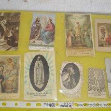 Postales: 9 POSTALES RELIGIOSAS. Lote 32523340