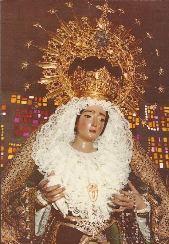 MARIA STMA. DE LA ESPERANZA - FUENGIROLA - MALAGA - (M-2409) (Postales - Religiosas y Recordatorios)