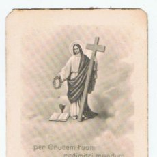Postcards - comunion xativa jativa 1947 sagrado corazon i cordero de dios - 32728955