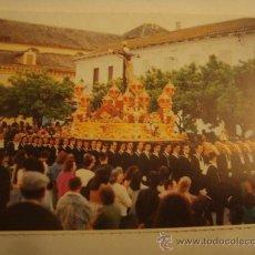 Postales: POSTAL SEMANA SANTA MALAGA , SANTISIMO CRISTO DE LOS VIGIAS. Lote 32949552