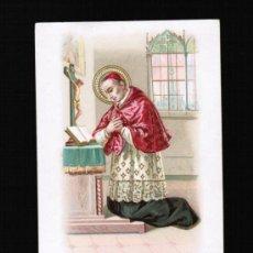 Postales: POSTAL TEMA RELIGIOSAS - SAN CARLO BORROMEO. Lote 33074659