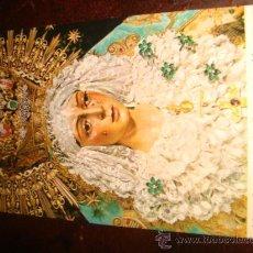 Postales: ANTIGUA ESTAMPA RELIGIOSA CARTON, VIRGEN ESPERANZA MACARENA SEVILLA. Lote 33218029