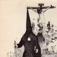 Postales: COFRADIAS SEVILLANAS Nº 17 CRISTO DE BURGOS AÑO 1962 SIN CIRCULAR . Lote 33491907