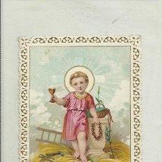 Postales: ESTAMPA RELIGIOSA TROQUELADA.. Lote 33964694