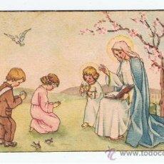 Postcards - lote 12 estampitas primera comunion anyos 40 ver fotos - 34346635