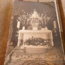 Postales: POSTAL VIRGEN DE LA SANTINA COVADONGA ASTURIAS CIRCULADA. Lote 34439077