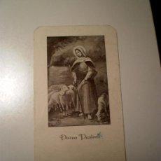 Postales: ESTAMPA RELIGIOSA DIVINA PASTORA. Lote 34729417
