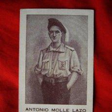 Postales: ESTAMPA RECUERDO MUERTO EN DEFENSA DE CRISTO REY Y DE ESPAÑA CATOLICOS (1915 - 1936 ). Lote 35070077