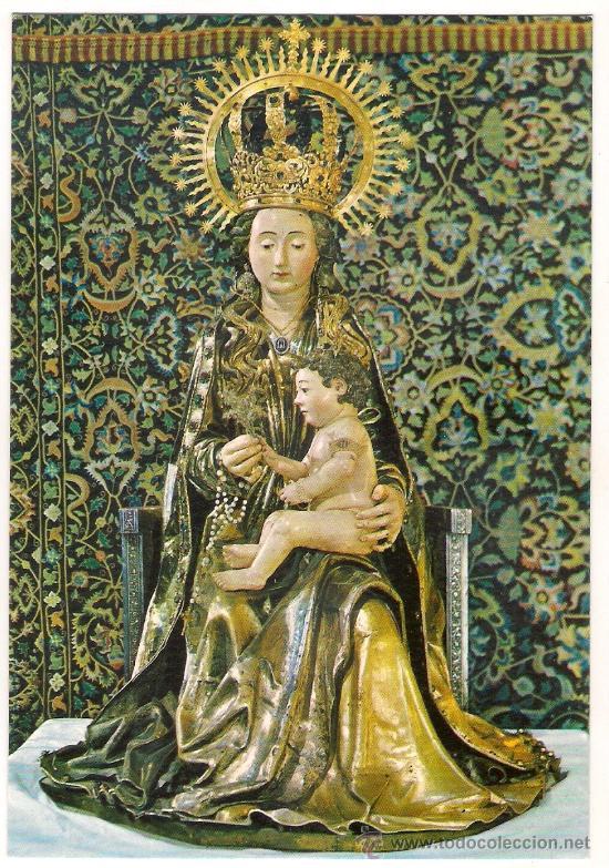 -46020 POSTAL RELIGIOSA SANTA MARIA LA MAYOR, PATRONA DE BURGOS (Postales - Postales Temáticas - Religiosas y Recordatorios)