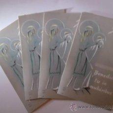 Postales: POSTALES - 4 ESTAMPAS RELIGIOSAS. Lote 35578432