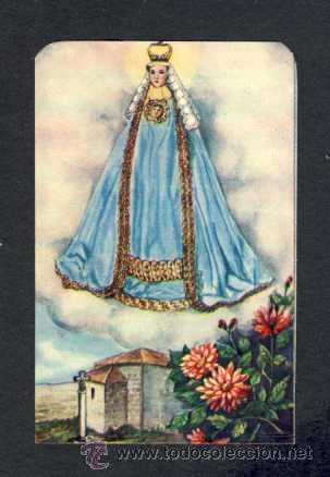 ESTAMPA RELIGIOSA: NUESTRA SEÑORA DE CHAMORRO (EL FERROL)HOLY CARD COVADONGA (Postales - Postales Temáticas - Religiosas y Recordatorios)