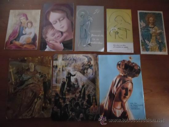 7 ESTAMPAS VARIADAS (Postales - Postales Temáticas - Religiosas y Recordatorios)