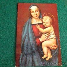 Postales: RELIGIOSAS-R1- ESCRITA-LA MADONNA DEL GRANDUCA. Lote 35799188