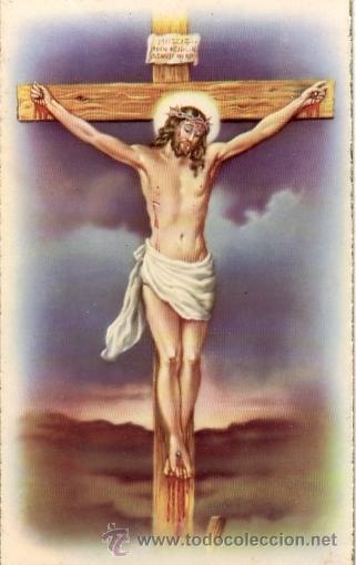 Postal Jesucristo En La Cruz Vendido En Venta Directa 35818033