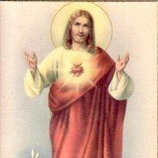 Postales: POSTAL SAGRADO CORAZON DE JESUS. Lote 35823469