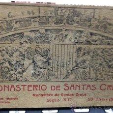 Postales: MONASTERIO SANTAS CREUS -20 POSTALES- BLOC- CAJA Nº3. Lote 35933896