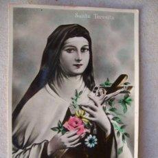 Postales: POSTAL DE SANTA TERESITA ( FECHADA EN 1933 ) 9 X 14 CTM. Lote 35951901