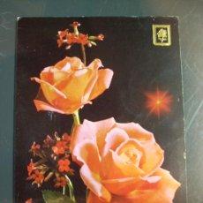 Postales: 4828 RELIGIOSA BERSO LUCAS 12:37 FLOR FLOWER FLORES POSTCARD AÑOS 60/70 ESCRITA - TENGO MAS POSTALES. Lote 36427446