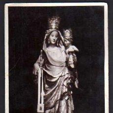 Postales: MONTBLANC. VERGE DE LA SERRA. EDICCIÓ BALDRIC. CIRCULADA 1946.. Lote 36701957