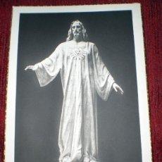 Postales: POSTAL SAGRADO CORAZÓN DE JESÚS DEL CERRO DE LOS ÁNGELES--REGALO POSTAL DE LA VIRGEN DE LT 1131. Lote 36741812