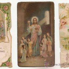 Postales: 3 ANTIGUA ESTAMPA - RECORDATORIO DEL .AÑO 1927 Y 1931. Lote 37164230