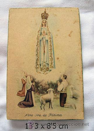 POSTAL ANTIGUA N. SRA DE FATIMA (Postales - Postales Temáticas - Religiosas y Recordatorios)
