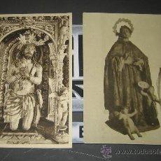 Postales: LOTE DE POSTALES RELIGIOSAS MUY ANTIGUAS. CRISTO Y VIRGEN. Lote 37498518