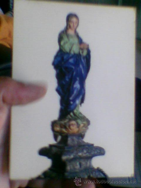 POSTAL VIRGEN PURISIMA ALONSO CANO GRANADA ARRIBAS Nº 239 TRASERA GARABATOS (B28) (Postales - Postales Temáticas - Religiosas y Recordatorios)