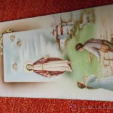 Postais: ANTIGUA ESTAMPA RELIGIOSA 1952. Lote 37591090