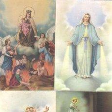 Postales: 4 POSTALES RELIGIOSAS . Lote 37635672