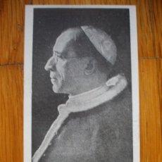 Postales: ESTAMPA RELIGIOSA CON ORACION PIO XII. Lote 37649901
