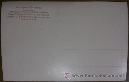 Postales: La Sagrada Escritura. Colección completa! 120 cuadros Rob. Leinweber (10 series con 12 postales c/u) - Foto 2 - 37694804