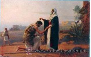 Postales: La Sagrada Escritura. Colección completa! 120 cuadros Rob. Leinweber (10 series con 12 postales c/u) - Foto 3 - 37694804