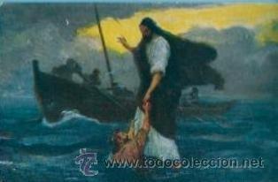 Postales: La Sagrada Escritura. Colección completa! 120 cuadros Rob. Leinweber (10 series con 12 postales c/u) - Foto 7 - 37694804