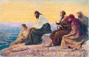 Postales: La Sagrada Escritura. Colección completa! 120 cuadros Rob. Leinweber (10 series con 12 postales c/u) - Foto 8 - 37694804