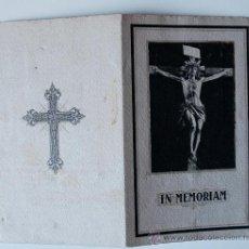 Postales: IN MEMORIAM, DOMINGO ALDOMÁ GARRIGA, ABOGADO, BARCELONA, 1931. Lote 37767771